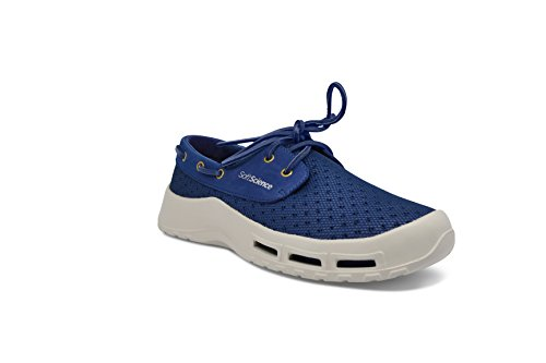 SoftScience The Fin Men's Boating/Fishing Shoes - Dark Blue, Size 18