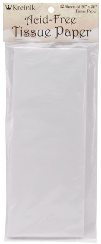 Kreinik 12 Sheets of Acid Free Tissue Paper, 20 by 30-Inch