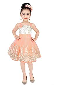 Pinky baby Dress For Girls
