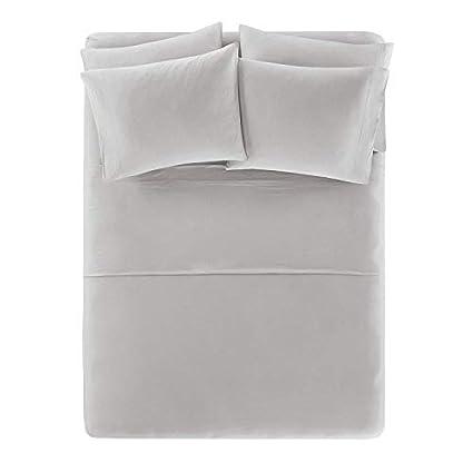 Amazon Com Cotton Jersey Knit Sheets Set Ultra Soft Twin Xl Bed