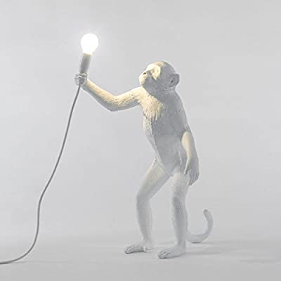 Seletti Monkey Lamp - Standing White