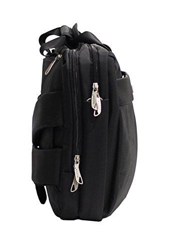 Laptop-Aktenkoffer Reversible im Rucksack Alistair Airo - Bis zu 15 Zoll - Ultra Léger- Nylon