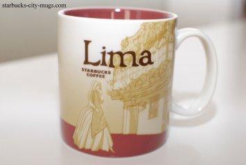 Starbucks Lima (Peru) Global Icon Mug 16 Oz for Coffee and Tea