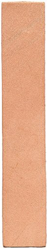 Realeather Crafts Leather Bookmarks, 7-Inch by 1.25-Inch, 8-Pack