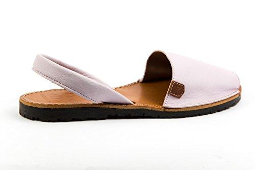 POPA - Sandalias de vestir de Piel Lisa para mujer 37 Flieder Lila