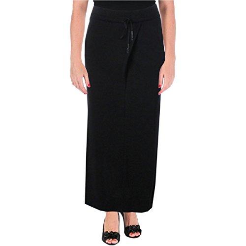 Wholesale DKNY Pure Womens Ribbed Trim Drawstring Maxi Skirt supplier