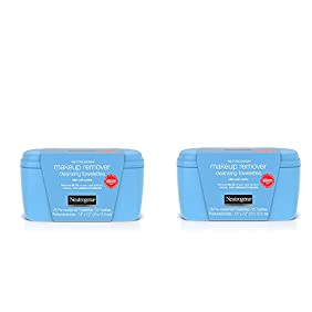 Neutrogena Makeup Remover Cleansing Towelettes, 25 Count pegvgO, 2Pack (Vanity Pack)