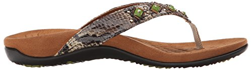 Womens Snake Natural Floriana Vionic Sandals Toe Post q5xwSYfCT