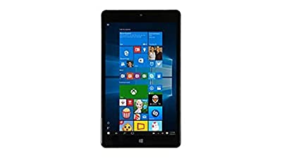 2016 Newest NuVision 8-inch Full HD (1920 x 1200) IPS Touchscreen Tablet PC, Intel Atom Z3735F Quad-Core Processor, 2GB RAM, 32GB SSD eMMC, Webcam, WIFI, Windows 10, Silver