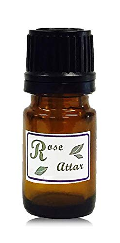 Rose Attar Perfume Oil Therapeutic Grade 2.5 ml From Tattva's Herbs