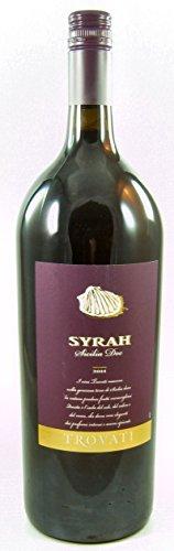 Syrah Sicilia IGT DOC 2014 Trovati Magnum, trockener Rotwein aus Sizilien