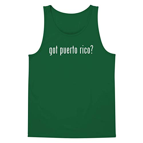 got Puerto rico? - A Soft & Comfortable Men's Tank Top, Green, Large