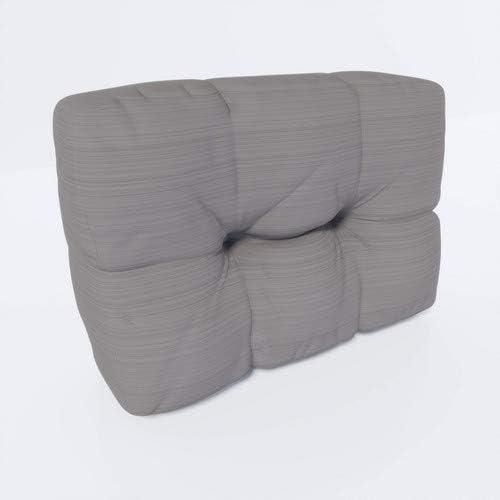 MSS Relax-Set Sitz /& Seiten Palettenkissen Stone