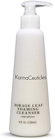 KarmaCeuticles Borage Leaf Foaming Cleanser, 8 oz.