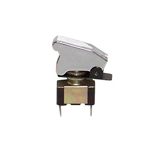 Keep It Clean 10931 Toggle Switch Race Toggle Switch With Safety Cover - Chrome