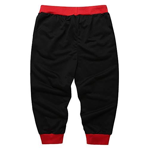 Uribaky Casual Baggy Dancewear Jogger Harem Rouge Survêtement Sportwear Décontractés De Pantalons SnYrqS