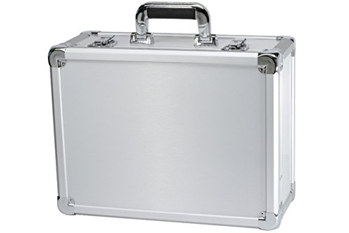 T.Z. Case International T.z Executive Series Aluminum Packaging Case, 16-1/2 X 12-1/2 X 7-3/8 in, Silver - Executive Aluminum Case