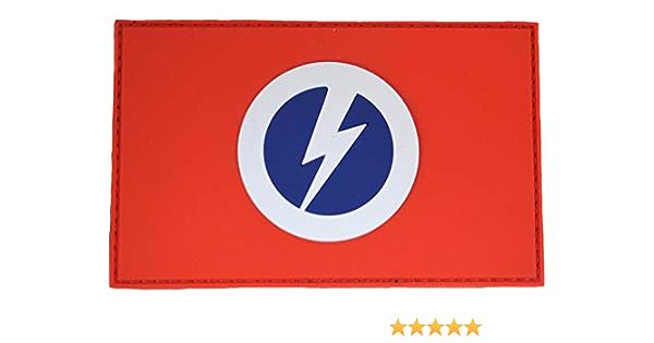 Unión Británica de fascistas de Sir Oswald Mosley (B.U.F.) Parche de bandera (Hook & Loop): Amazon.es: Juguetes y juegos