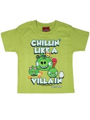 Villain Chillin Enfant Like Licence Pour Sous A shirt Officielle Tee Angry Birds w1IAq54R