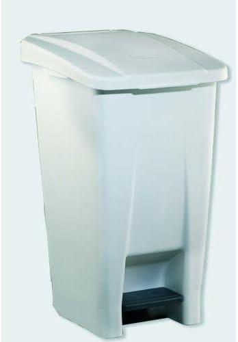 PEAD Denox 23300.050 Conteneur S/électif 60 L Blanc Unique