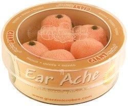 Giant Microbes Ear Ache (Streptococcus pneumoniae) Petri Dish
