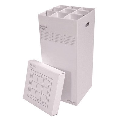 (9 Slot Rolled File Filing Box Size: 37