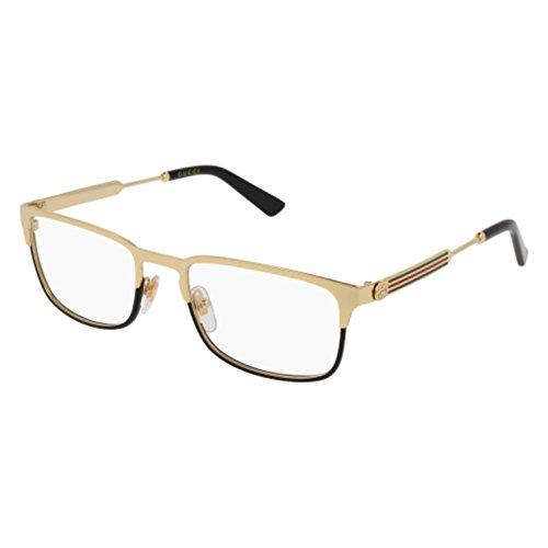 b9ddb209c407 Eyeglasses Gucci GG 0135 O- 001 GOLD - Frames Gucci Gold