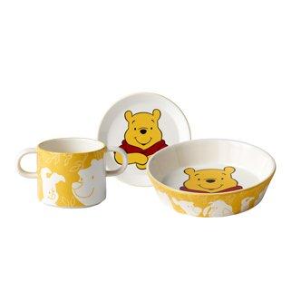 Royal Doulton CLASSIC POOH CLASSIC DINNERWARE: 3-Piece Set (Winnie the Pooh)