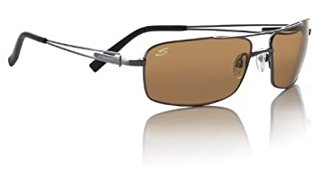 Serengeti Dante Gafas De Sol - Brillante Pistola - Polarizado Drivers