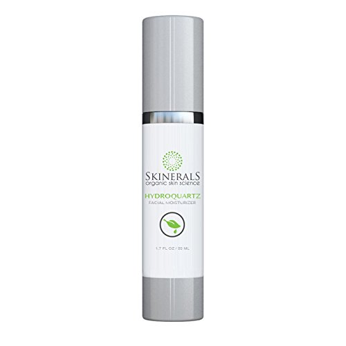 Skinerals Organic Facial Moisturizer Hydroquartz Natural Skin Hydration Face Treatment Restore Your Skins Beauty