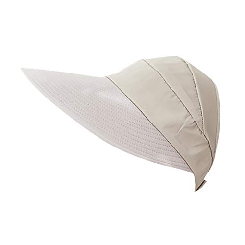 Sunskyi Sun Hats for Women - Outing Duck-Tongue Hat Wide Brim UV Protection Empty-Top Outdoor Sun Cap Packable Visor