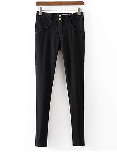 BlancPlissé FemmeCouleur Et Noir Pour De Plus Yfltz Black Active Coton Unie Sarouel Size Pantalon En 92eWDIYEH