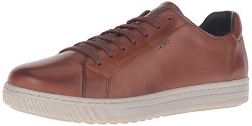 Geox Uomo Rikin, Zapatillas para Hombre Marrón (Cognac C6001)