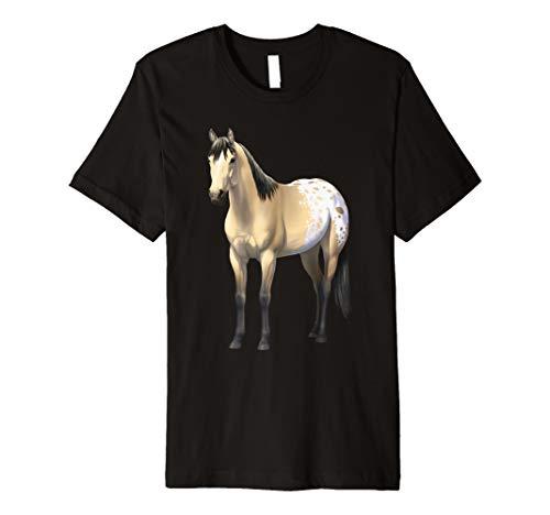 Buttermilk Buckskin Appaloosa Quarter Horse T-shirt ()