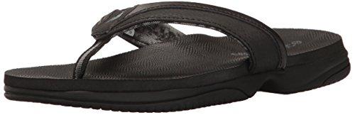 Flip Flop Slipper New Sandal - New Balance Women's JoJo Thong Sandal, Black, 8 M US