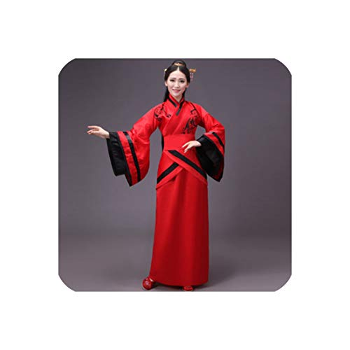 Dress Chinese Traditional Costumes Tang Suit Performance