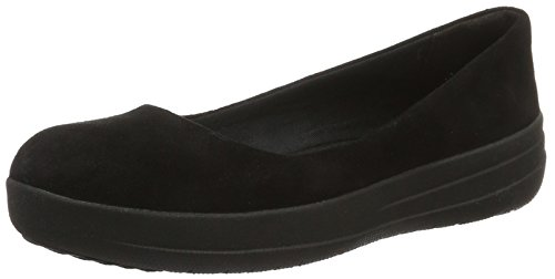 Black Ballerina all F Black Fitflop Donna sporty qpwpg7
