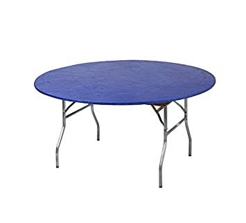 Amazon Com Kwik Covers 60 Round Fitted Plastic Table Covers