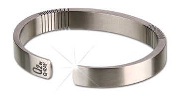 Qray Q2 Pure Titanium 100% Pure Titanium Golf Athletic Bracelet