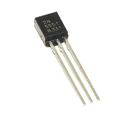 PZ 10 2n5551 t0-92 Transistor NPN 160v Volt 0,6amp 600ma Fairchild Semiconductor