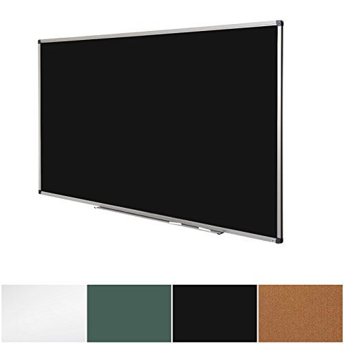 Black Magnetic Chalk Board | Aluminium Framed | Excellent Solution for Art, Notes and Memos | 3 Sizes Available | 36