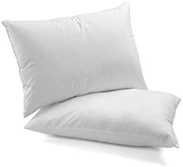 DAGOSTINO HOME - Pack de 2 almohadas de Fibra Supersuave lavables ...