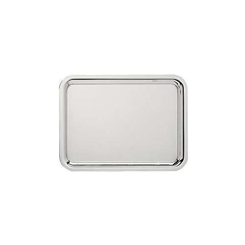 Oneida J0015431A Noblesse Oblong S/S 15 x 20'' Tray by Oneida