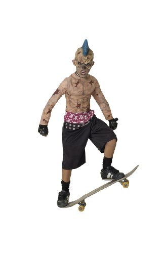 Zombie Punk Halloween Costume (Rubie's Costume Co Zombie Skate Punk Costume, Large)