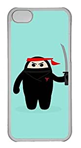 Customized iphone 5C PC Transparent Case - Ninjia Cover