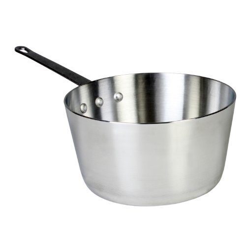 Thunder Group 4.5 Quart Aluminum Sauce Pans, Mirror ()