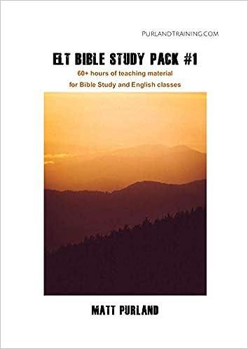 ELT Bible Study Pack #1: Learn English through Bible Study: Matt