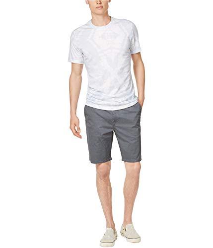 American Rag Mens Tie Dye Basic T-Shirt, Blue, X-Large
