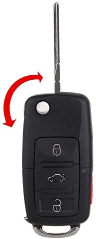 Key Fob Replacement,Mushan Remote Keyless Entry fits 2007-2014 Cadillac Escalade//Cadillac Escalade ESV//Chevrolet Suburban//Chevrolet Tahoe//GMC Yukon,2009-2017 Chevrolet Traverse,2007-2016 GMC-2Pack