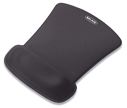 2 x Belkin F8E262-BLK WaveRest Series Gel Mouse Pad ()